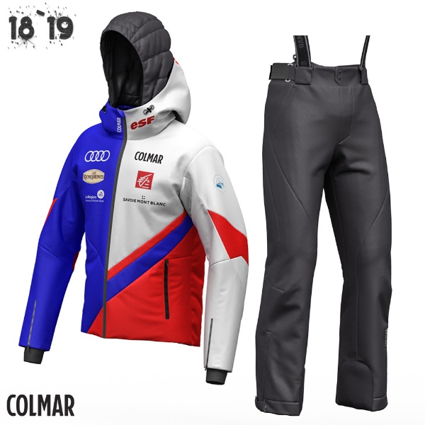 1819 COLMAR FRENCH NATIONAL SKI TEAMWEAR /MUB1580+MU1513 (콜마 프랑스 내셔널 스키 팀복/C BL-B RD-WT + B RD/)